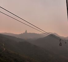 Ngong Ping  by Michael Thoms