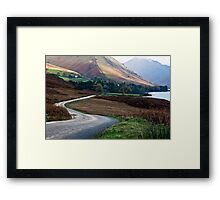 Lake Road - Wast Water Framed Print