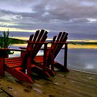 ADIRONDACK MORNING  by MIKESANDY