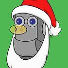 Santa Robot by peabody00