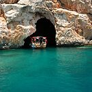 Entering Pirate Cave, Turquoise Coast by Christopher Cullen