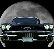 1958 Cadillac Eldorado Biarritz Convertable  by Timothy Meissen