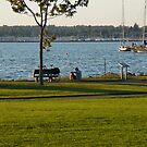 A Moment of Solitude by Bellingham Bay by rferrisx