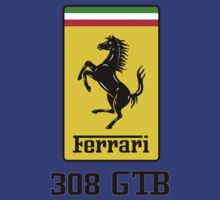Ferrari 308 GTB by BrokenSk8boards