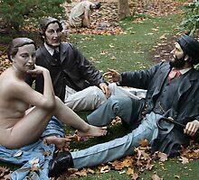 Grounds for Sculpture Series by ZeeZeeshots