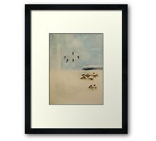 one winter  * special order prints: tokikoandersonart@gmail.com Framed Print