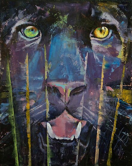 Panther Trance by Michael Creese