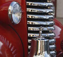 Fire Truck Front Grille by fototaker