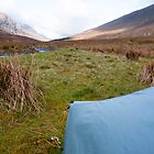 Wildcamp near Glenuaig Lodge, Scottish Highlands by Michael Firkins