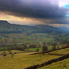 Wensleydale and Addlebrough by NSQPhotography