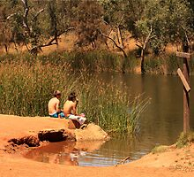 Ellendale Pool, Walkaway, Western Australia by Elaine Teague