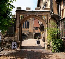 Norman Arched Gateway in Warwick by chris-csfotobiz