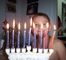 Hanukkah by Nella Khanis