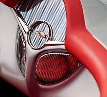 1954 Chevrolet Corvette Radio Speaker by Jill Reger
