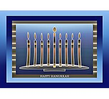 Hanukkah Photographic Print