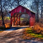 Little Covered bridge  by ECH52