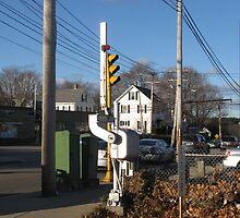Pedestrian Gate at Needham Heights by Eric Sanford