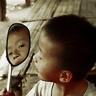 Watching The Mirror by Dimitris Koutroumpas