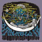 Dimentia 13 first album artwork by Brad Warner