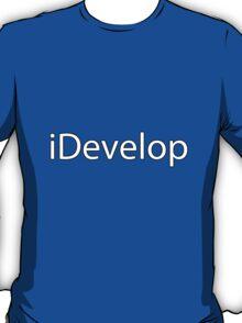 iDevelop Apple Programmer  T-Shirt