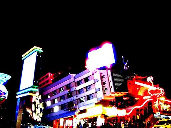 Club Night Lights by Jonny  McKinnon