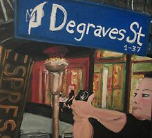 Degraves St by Jill Camilleri