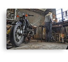 Fixing Things! Canvas Print