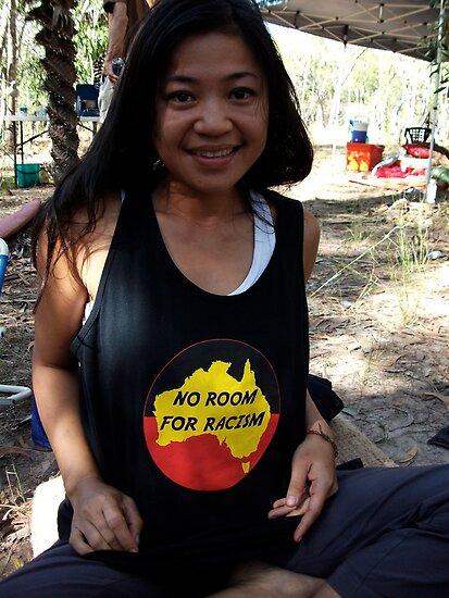 NO ROOM FOR RACISM by NAGILLAH