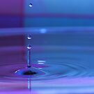 Pastel Waterdrop by Brian Dodd