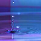 Pastel Waterdrop by Brian Dodd