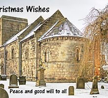 Dalmeny Parish Church - Christmas Card by Tom Gomez