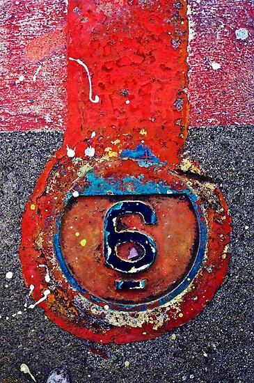 Number 6 by mike  narciso