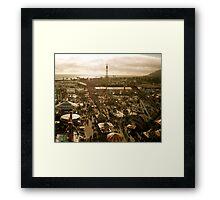 A Fair Ocean View Framed Print
