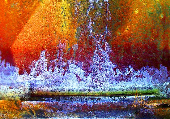 Fountain Of Life by Angela  Burman