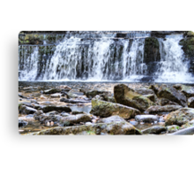Wainwath Force, Keld, Swaledale ~ RB Bubblemeet ~ Canvas Print