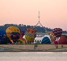 Canberra Balloon Fest 2005 #1 by Odille Esmonde-Morgan
