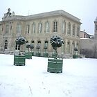 Paris in Winter 4- Chateau Ville d' Asnieres-Sur-Seine France 2010 by Jenny Davis