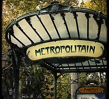 Metropolitain by Marc Loret