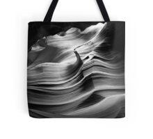 Sandstone Wave ~ Black & White Tote Bag