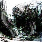 an evil black forest seascape.... dark wreck by banrai
