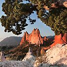 Garden of the Gods, CO - A Look South by Yvonne M.  Merkle