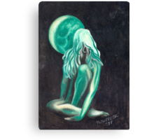 GreenGirl Canvas Print
