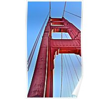 Golden Gate Perspective  Poster