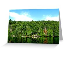 The Algonquin Greens Greeting Card