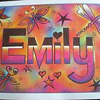 Emily personalised picture by FoxyArtz