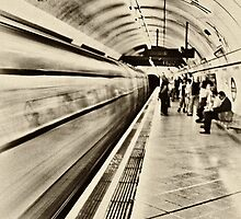 Down in a Tube Station at Midnight by juleslond