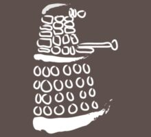 Dalek: Exterminate White T-shirt by redcow