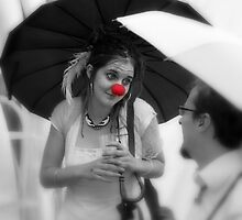 Red Nose by SpiralPrints