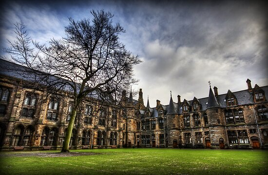 Glasgow Uni Quadrangle by Daniel Davison