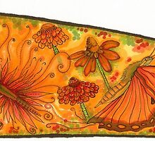 """My Collab. Piece For: """"Butterwing - 8 Artists, one piece"""" by Catherine  Howell"""